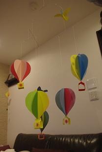 モビール気球2