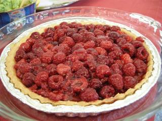 rasberrytarte