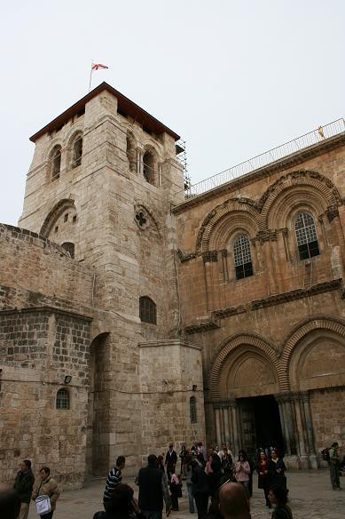イスラエル 聖墳墓教会