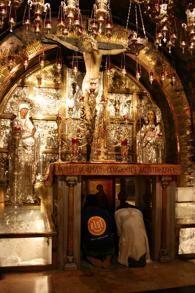 イスラエル 聖墳墓 十字架