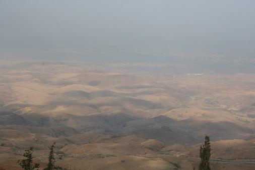 ヨルダン ネボ山 約束の地