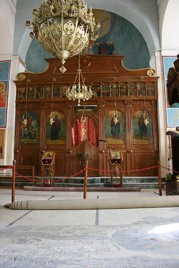 ヨルダン モザイクの教会 祭壇