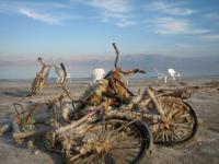 死海 自転車