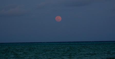 ザンジバル 月