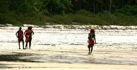 ザンジバル マサイ族
