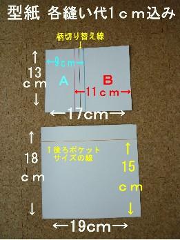 3月 ポシェット作り方 型紙