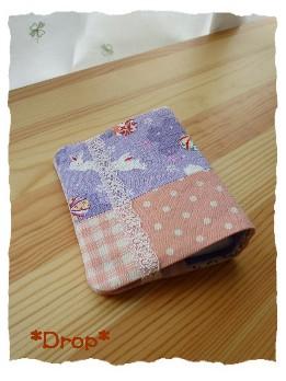 カードケース 和 紫1