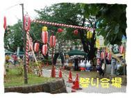 7月 津田沼フリマ 祭り会場1