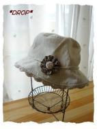 オーダーバッグ おまけコサージュ帽子