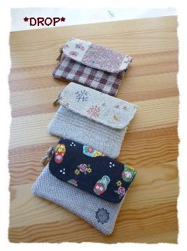 ミニ財布 3個3