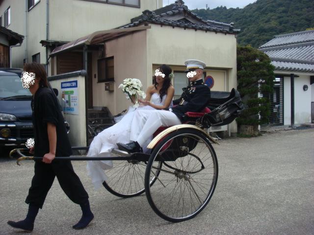 海兵隊さんの結婚式