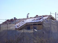 雪のり屋根