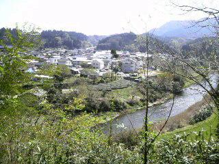 生目神社からの眺望