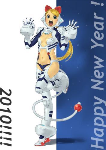 2010新年の絵