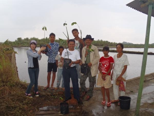 新プロジェクト植林地 ビンタン島1