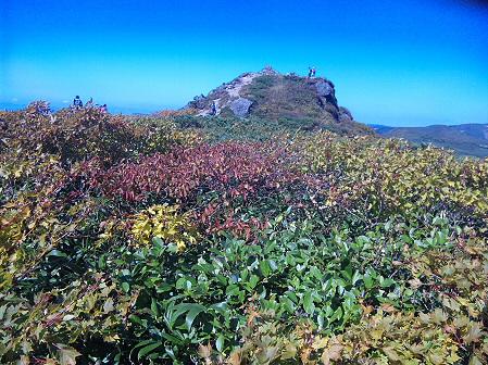 三ツ石山06(2011.9.28)佐々木さん