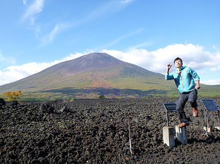 岩手山焼走り熔岩流の紅葉03(2011.10.11)