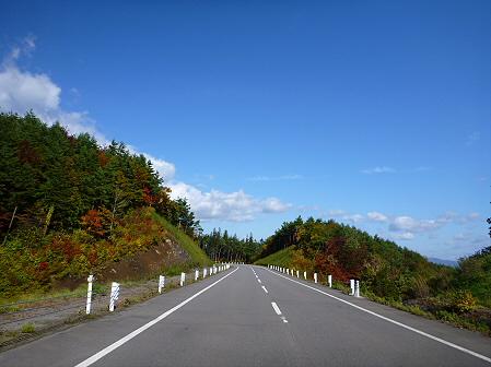 岩手山パノラマラインの紅葉01(2011.10.12)