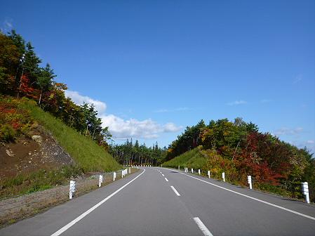 岩手山パノラマラインの紅葉02(2011.10.12)