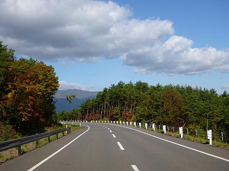 岩手山パノラマラインの紅葉03(2011.10.12)
