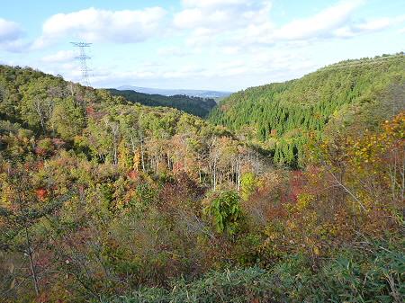 林道を行く35(2011.10.18)