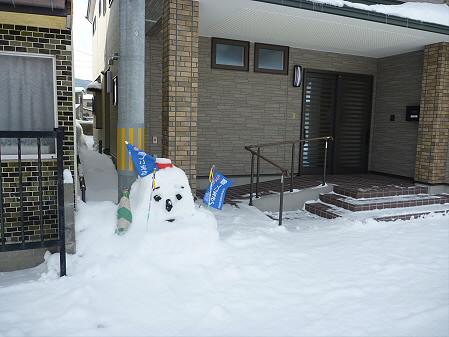 マニハチ探検隊07(2011.2.11)雪景色
