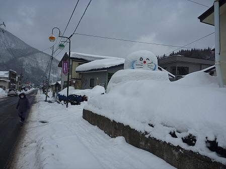 マニハチ探検隊10(2011.2.11)雪景色