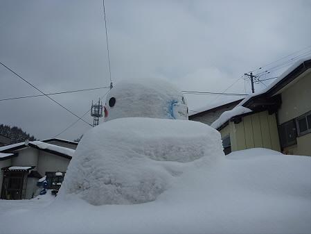 マニハチ探検隊11(2011.2.11)雪景色