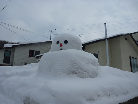 マニハチ探検隊12(2011.2.11)雪景色
