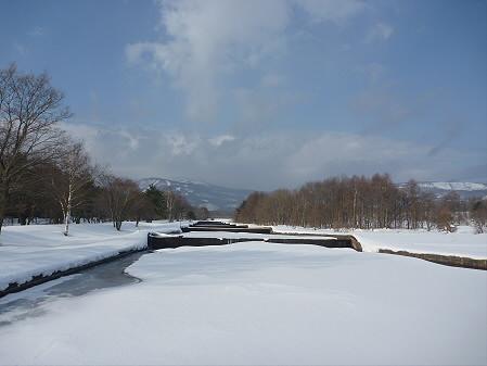 松川温水路02(2011.2.24)