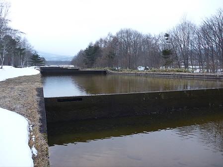 松川温水路02(2011.3.29)