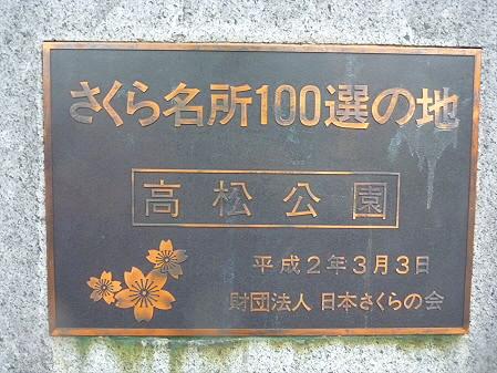 高松公園の桜05(2011.4.30)