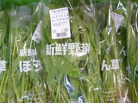 物産館あすぴーての野菜09(2011.5.7)
