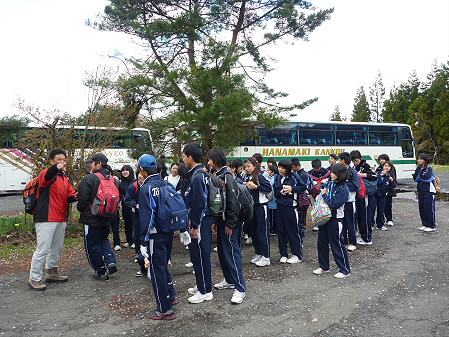 教育旅行姫神登山04(2011.5.13)