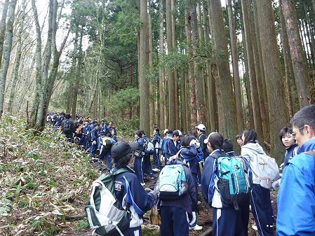 教育旅行姫神登山05(2011.5.13)