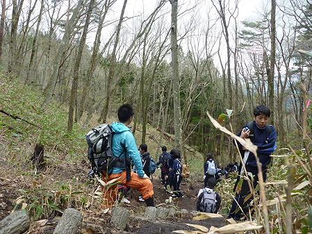 教育旅行姫神登山09(2011.5.13)