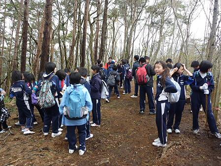教育旅行姫神登山10(2011.5.13)