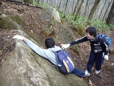 教育旅行姫神登山14(2011.5.13)