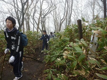 教育旅行姫神登山20(2011.5.13)