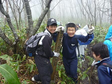 教育旅行姫神登山24(2011.5.13)