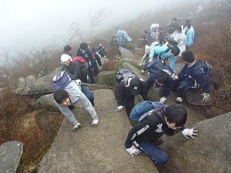教育旅行姫神登山27(2011.5.13)