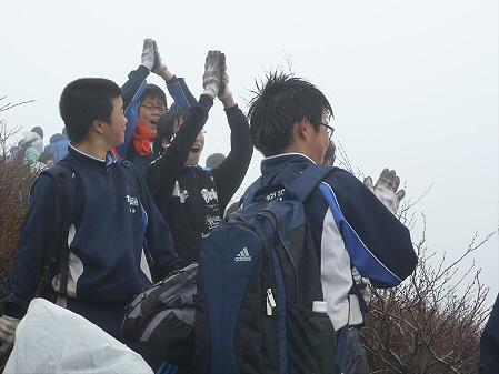 教育旅行姫神登山30(2011.5.13)