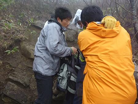 教育旅行姫神登山33(2011.5.13)