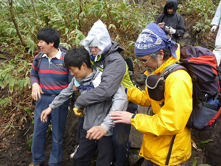 教育旅行姫神登山34(2011.5.13)