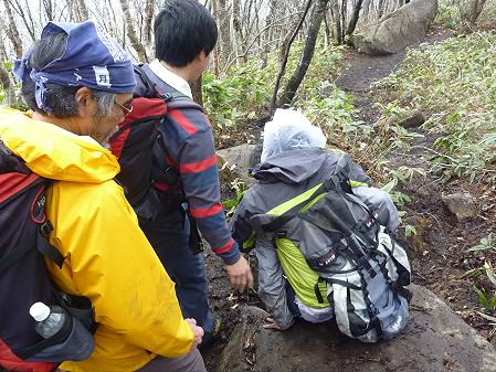 教育旅行姫神登山36(2011.5.13)