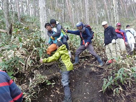 教育旅行姫神登山38(2011.5.13)