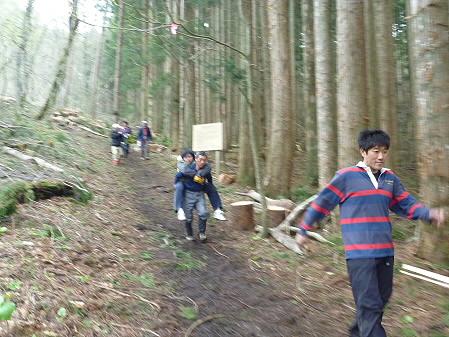 教育旅行姫神登山39(2011.5.13)