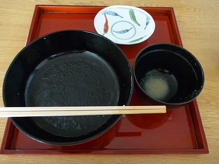 松川荘 いわなと山菜天丼10(2011.5.15)