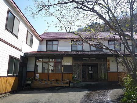 松川荘 いわなと山菜天丼01(2011.5.15)