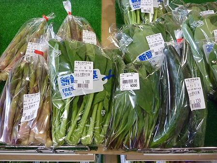 物産館あすぴーての野菜02(2011.5.27)